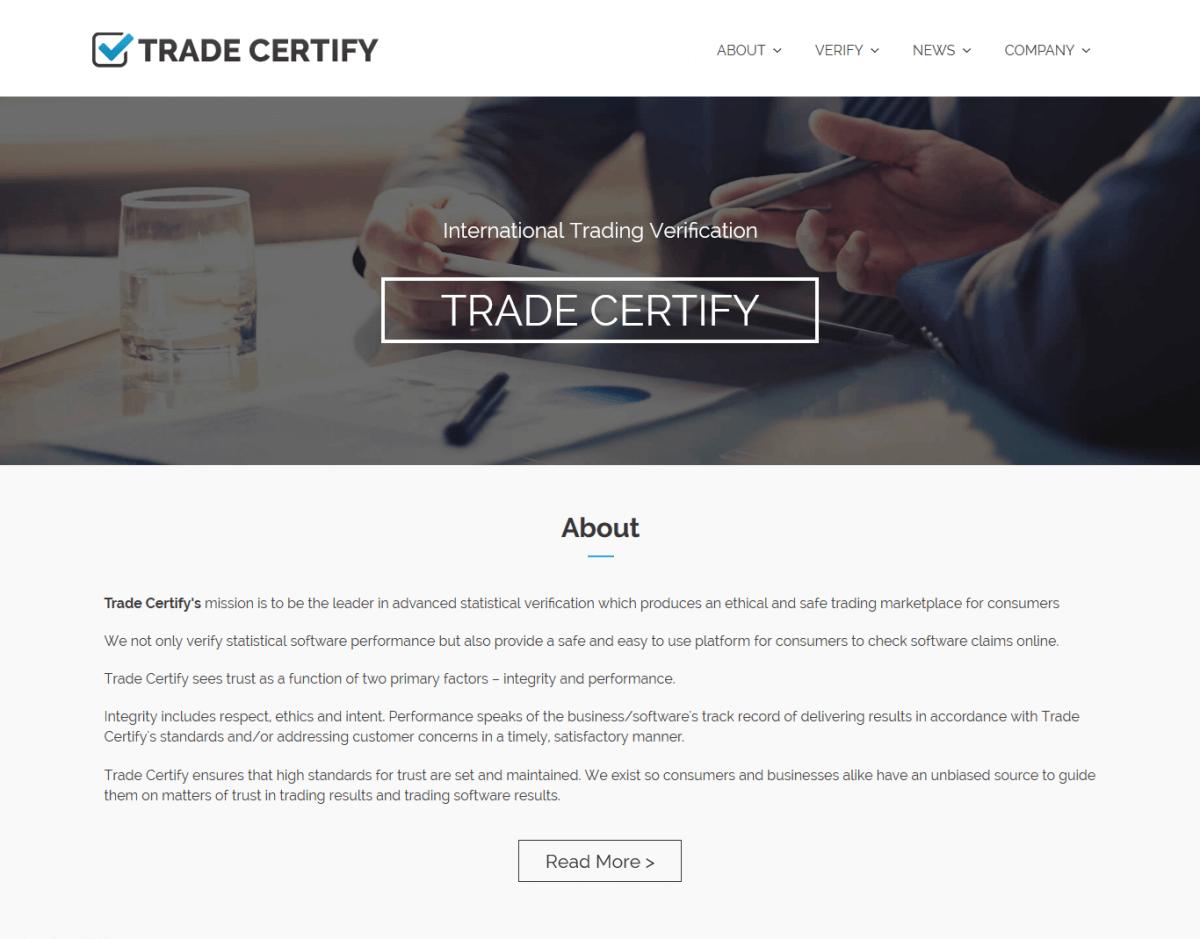 Trade Certify